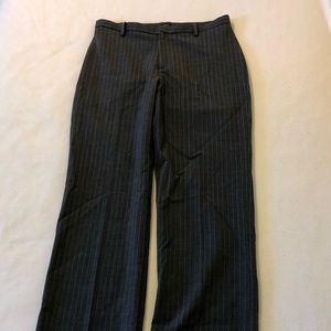 Gap Stretch gray/light gray pinstripe 4A pants.